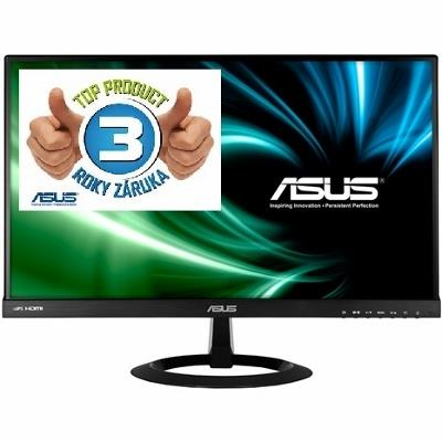 Asus LCD-LED VX229H 21.5'' wide FHD IPS, 5ms, DC 80mil:1, 2xHDMI, repro, č.