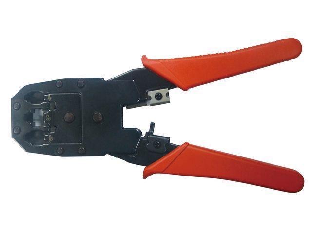 Gembird univerzální modulární krimpovací kleště pro RJ45/RJ12/RJ11, T-WC-04