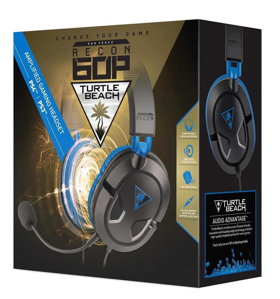Turtle Beach EAR FORCE RECON 60P sluchátka s mikrofonem