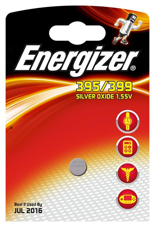 Baterie do hodinek , Energizer, 395/399