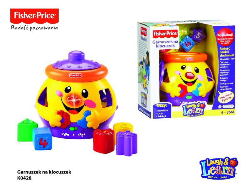 Fisher Price - pot for blocks