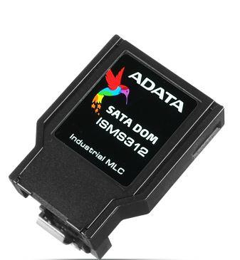 ADATA SATA III DOM paměťová karta 8GB, MLC, 0 to 70C, 7pin, horizontální,bulk