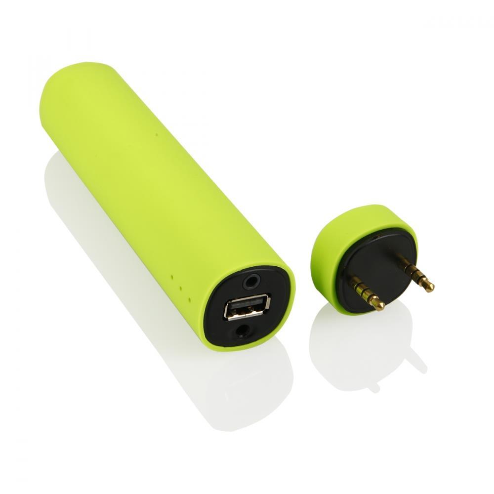 GT BY03 mini bluetooth reproduktor + externí baterie 4000 mAh + stojan, zelený