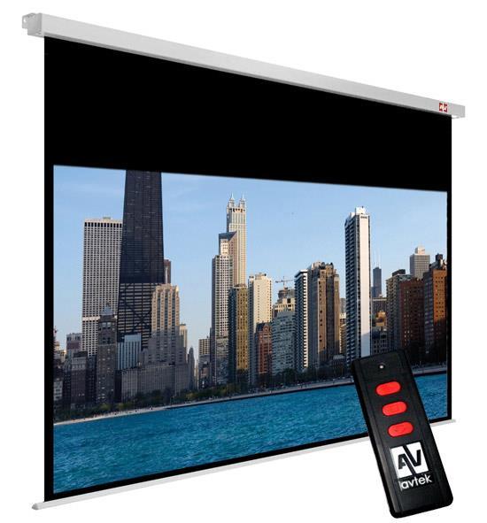 Avtek elektrické plátno Cinema Electric 200 (200 x 200 cm) - 16:9