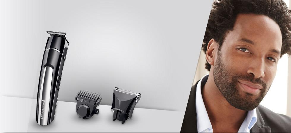 Zastřihovač vlasů REMINGTON - MB4110 Stubble kit