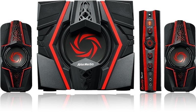 Gaming speakers AverMedia Ballista Unity GS310 40W, Control box