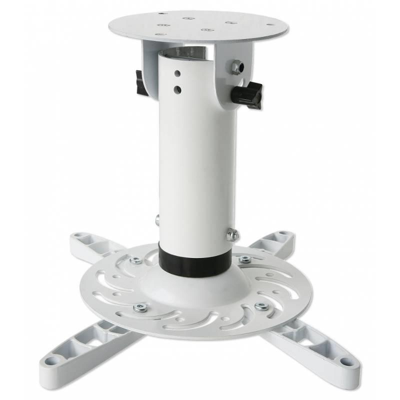 Techly Stropní držák na projektor 20 cm, 15 kg, bílý