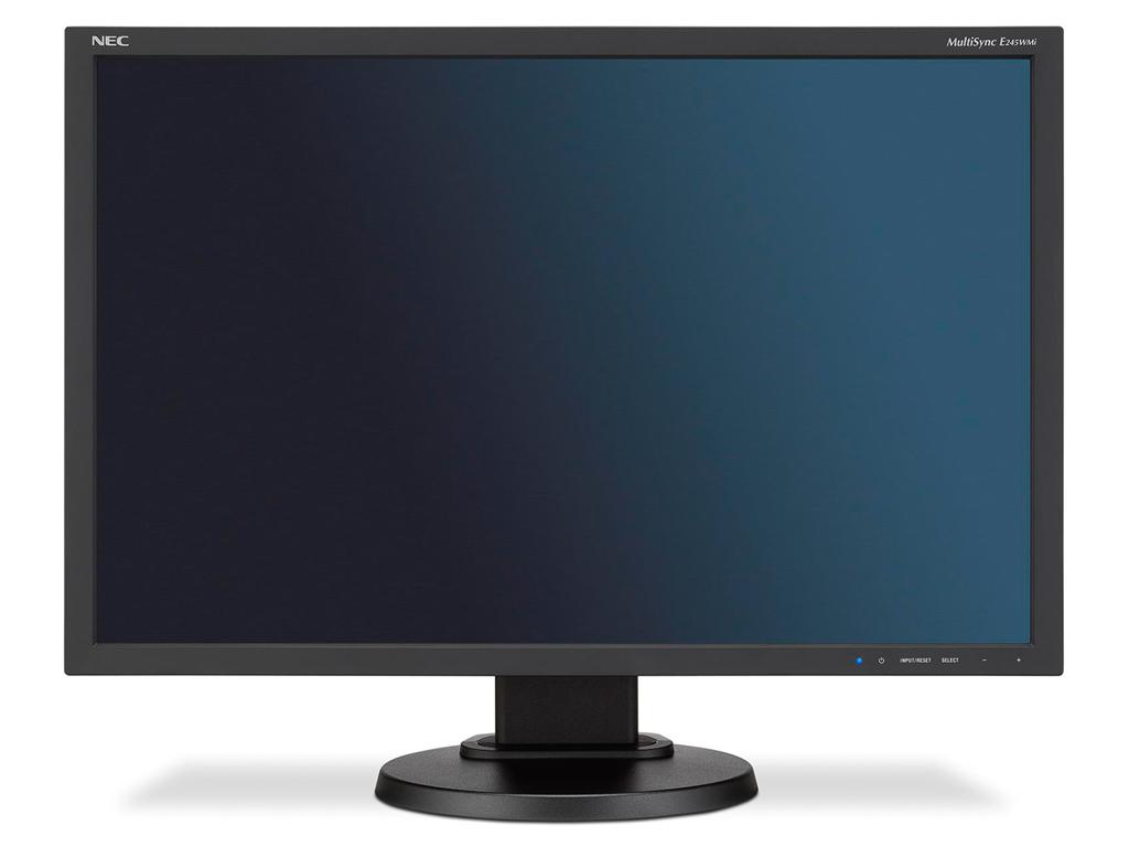 NEC LCD E245WMi 24'' LED, IPS, 6ms, VGA/DVI/DP, repro, 1920x1200, HAS, pivot, č