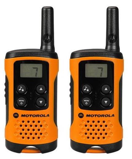 Motorola TLKR T41 vysílačka - 4 km, 8 kanálů, oranžová