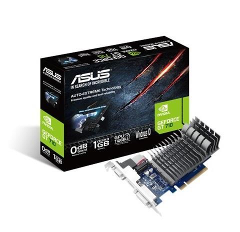 ASUS GeForce GT 710, 1GB DDR3, PCI Express 2.0