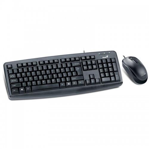 Genius keyboard + mouse combo KM-130, black, US layout