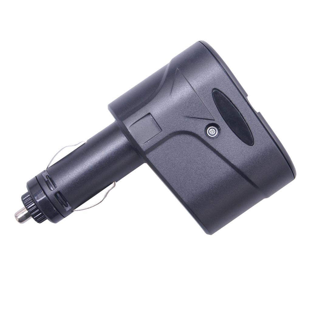 GT WF-325 nabíjecí adaptér do auta, 2 zásuvky