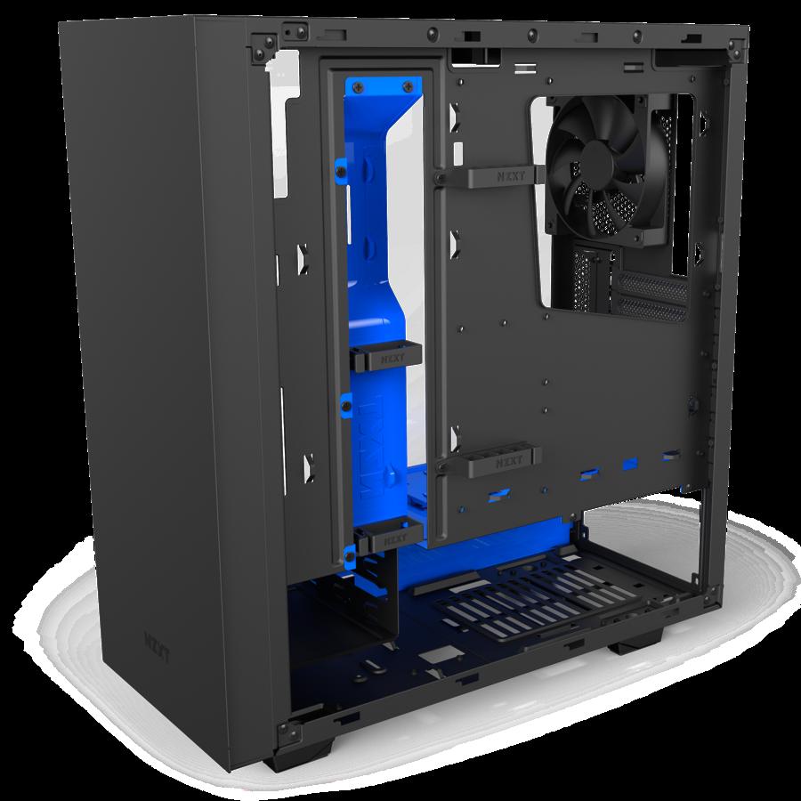 Obudowa komputerowa NZXT S340 Elite Black/Blue