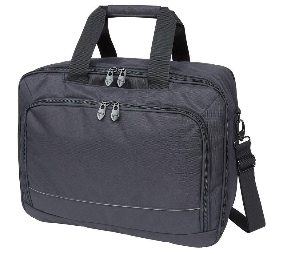 Falcon 3 Way Laptop Travel Bag 15,6'' black