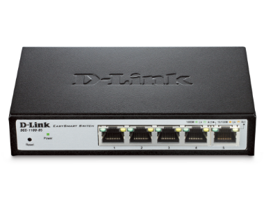 D-Link DGS-1100-05 Easy Smart Switch 10/100/1000