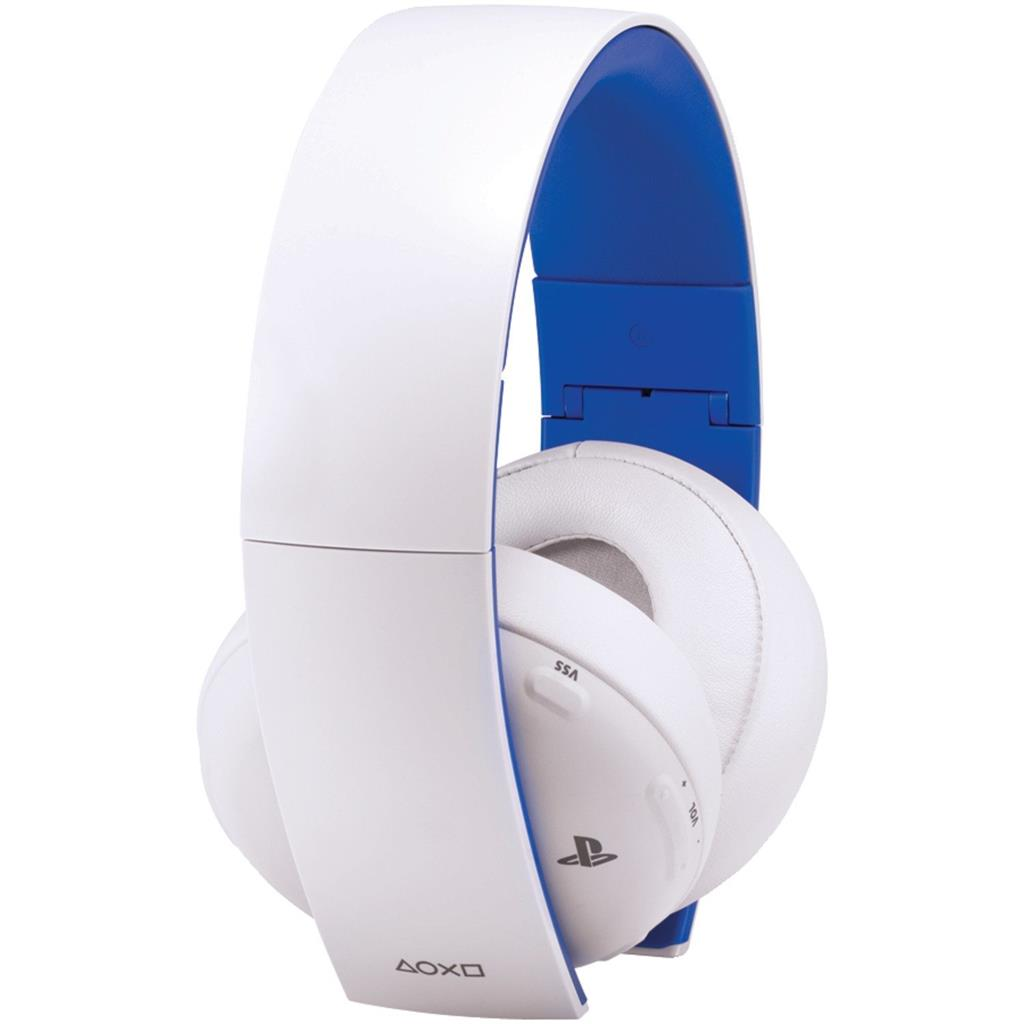 PS4 Wireless Stereo Headset white