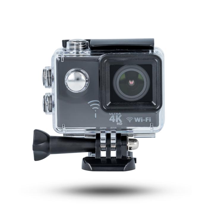 Forever sportovní kamera SC-400 plus, 4K rozlišení+kamera do auta zdarma