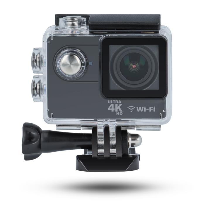 Forever sportovní kamera SC-410,4K,Wifi,ovladač+kamera do auta zdarma