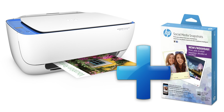 HP All-in-One Deskjet Ink Advantage 3635 (A4, 8,5/6 ppm, USB, Wi-Fi, Print, Scan, Copy)