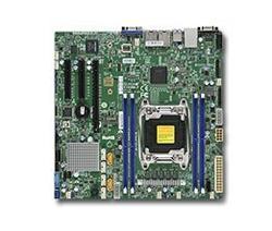 SUPERMICRO MB 1xLGA2011-3, iC612,4x DDR4 ECC,10xSATA3,(PCI-E 3,0 1,2 (x16,x8),2x LAN,IPMI