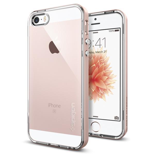 OCHRANNÝ KRYT (TPU+HARD) SPIGEN Neo Hybrid Crystal PRO APPLE IPHONE 5 - ROSE GOLD