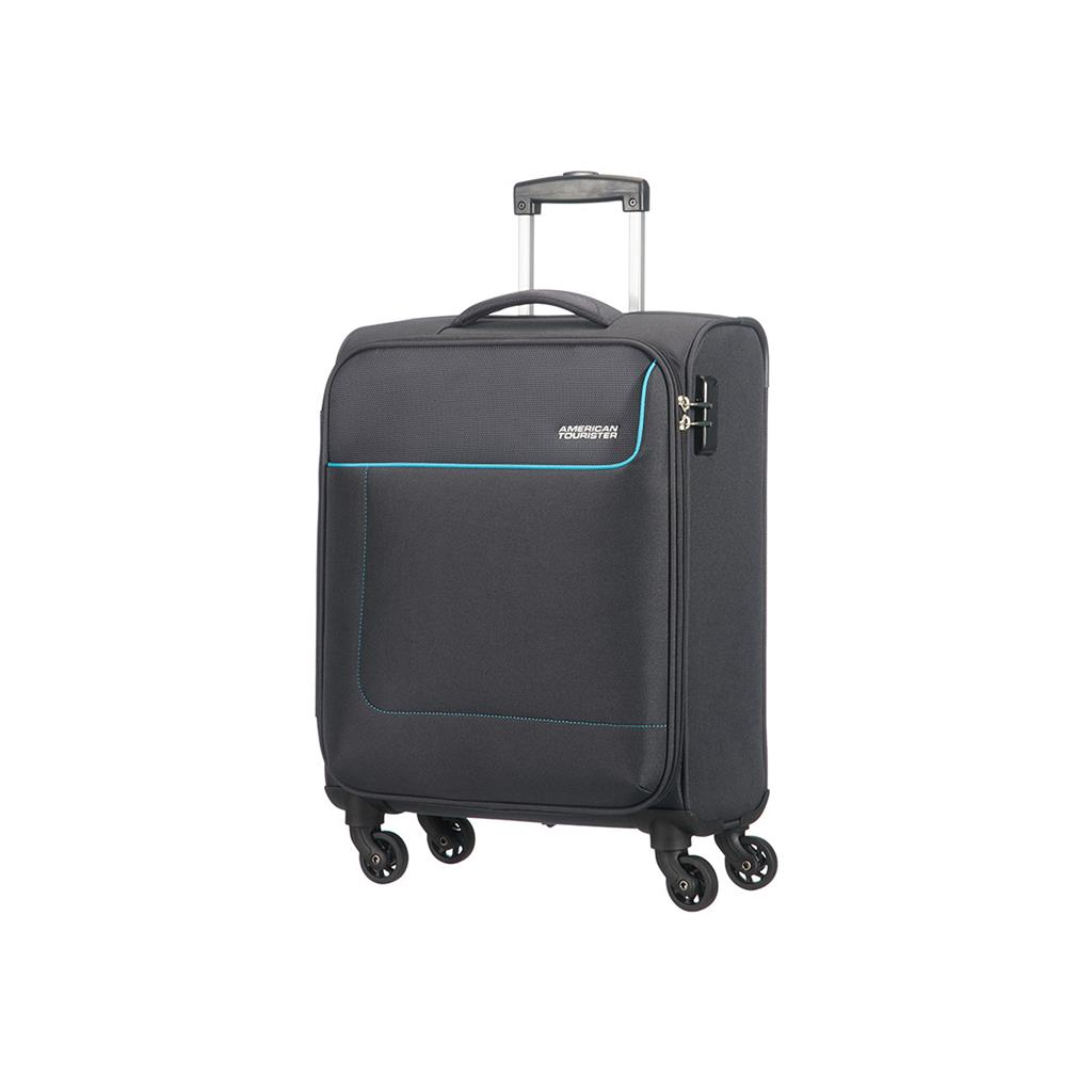 Cabin spinner AT SAMSONITE 20G28002 FUNSHINE 55/20 cm just luggage, 4whe graphit
