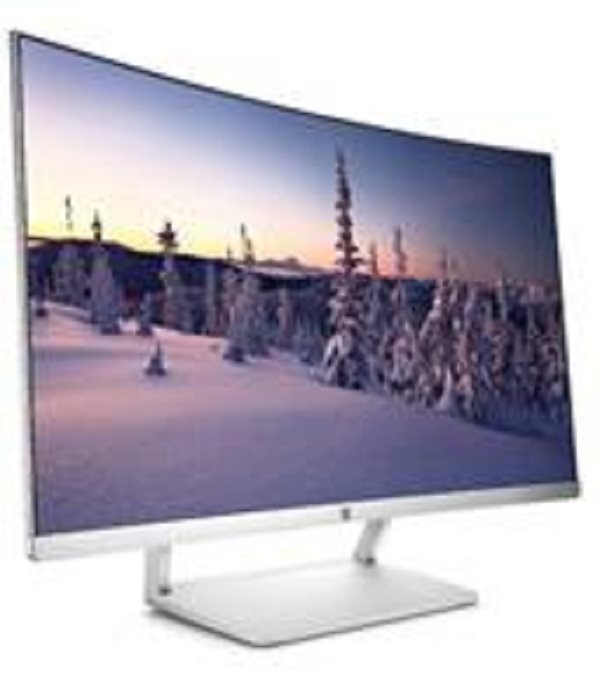 "HP LCD VA Curved Display 27es LED backlight AG; 27"", 1920x1080,10M:1, 300cd,5ms,DisplayPort 1.2,HDMI,VESA,white"