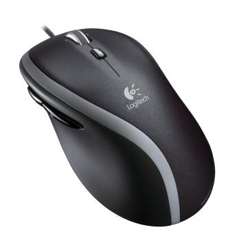 Logitech myš M500, laserová, 7 tlačítek, černá