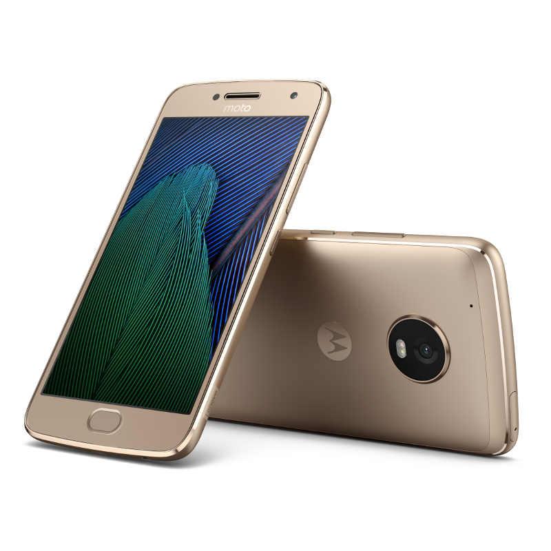 "Motorola Moto G Plus 5.generace Dual SIM/5,2"" IPS/1920x1080/Octa-Core/2,0GHz/3GB/32GB/12Mpx/LTE/Android 7.0/Gold"