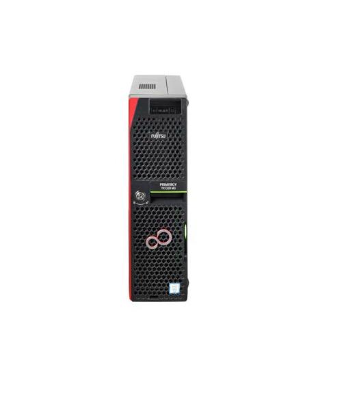 Fujitsu PRIMERGY TX1320M3/SFF/ E3-1220v6 4C/4T 3.00 GHz/8GB/DRW/2xHD SATA 6G 1TB 7.2K/Red. PSU