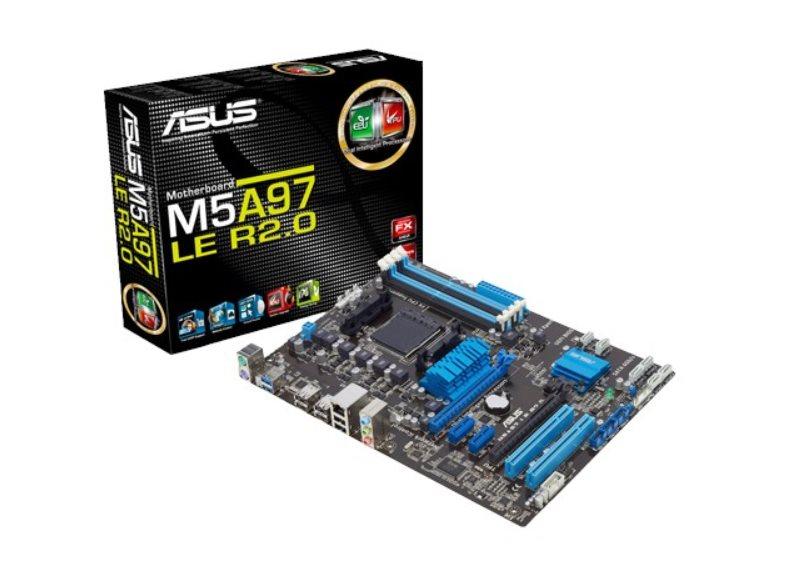 ASUS MB Sc AM3+ M5A97 LE R2.0, AMD 970, 4xDDR3