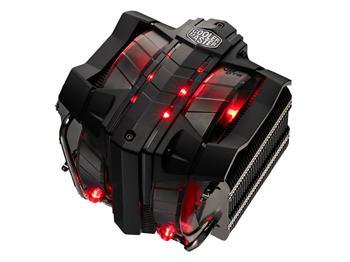 chladič Coolermaster V8 GTS,sct. 2011/775/1150/1155/1156/1366/AM2/AM3+/FM1/FM2, 600-1600RPM, 140mm větrák