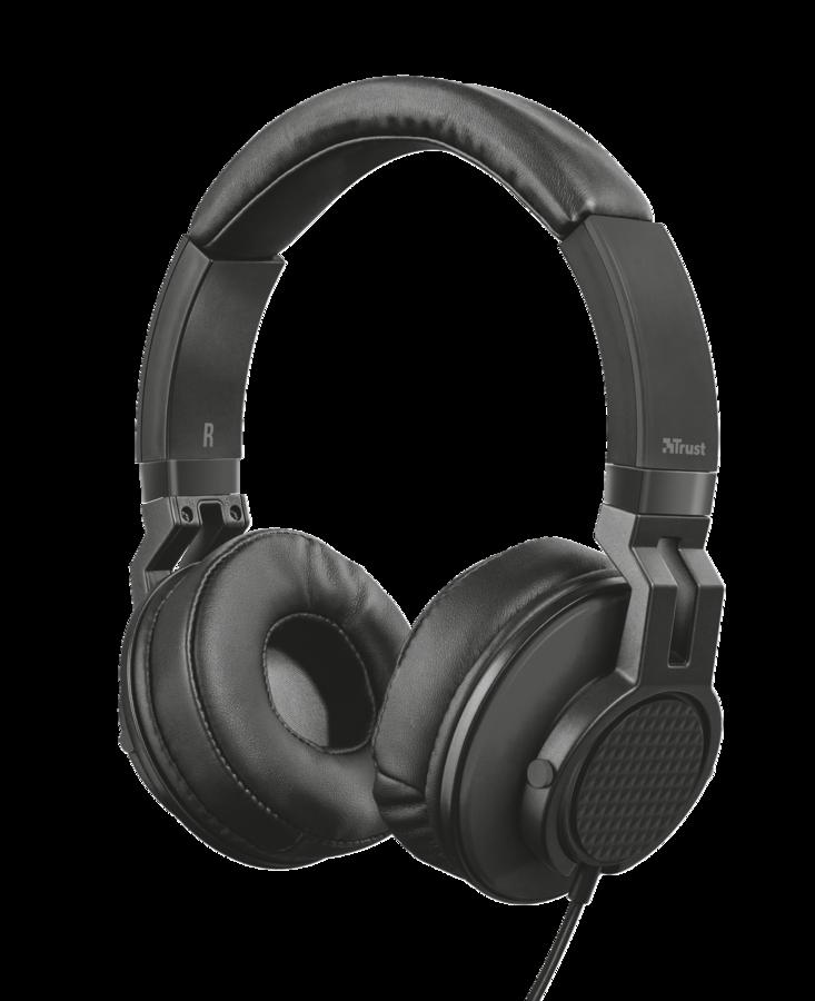 náhlavní sada TRUST DJ Headphone