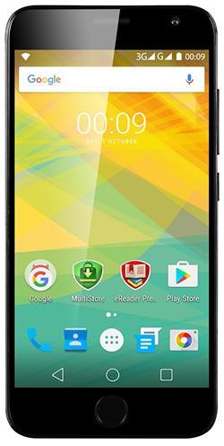 "PRESTIGIO Grace R7, 5.26"" HD IPS, Dual SIM, Android 6.0, 1,3GHz QC, 1280*720, 16GB ROM,2GB RAM, 13Mpx,černý,rozbaleno"