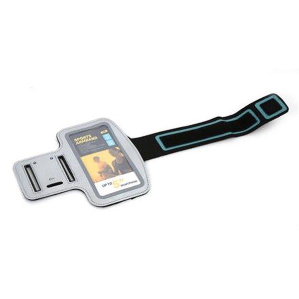 PLATINET sportovní popruh na paži pro smartphone, šedý
