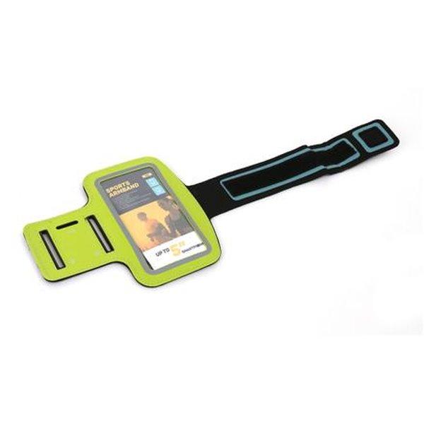 PLATINET sportovní popruh na paži pro smartphone, zelený