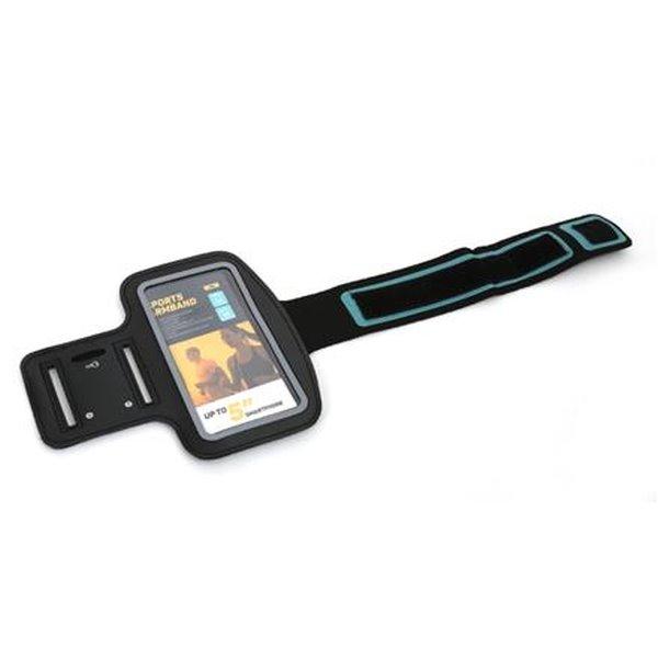 PLATINET sportovní popruh na paži pro smartphone, černý