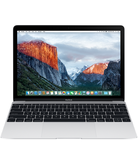 MacBook 12-inch: 1.2GHz Dual-Core m5, 8GB, HD Graphics 515, 512GB - Silver EN kl