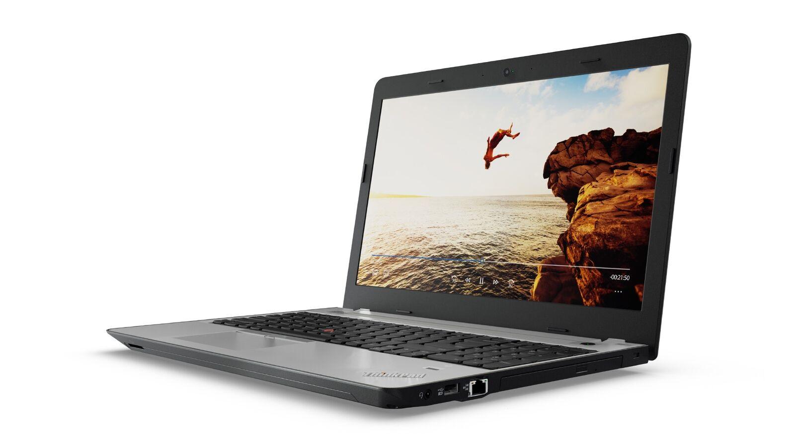 """Lenovo ThinkPad E570 i7-7500U/8GB/1TB-5400/DVD±RW/GeForce GTX 950MX 2GB/15,6""""FHD matný/Win10PRO černo-stříbrný"""