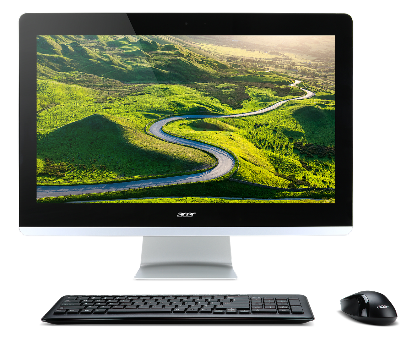 "Acer Aspire Z3-715 ALL-IN-ONE 23,8"" Touch FHD IPS LED/i3 7100T/4GB/1TB/DVDRW/USB kybd & mouse/repro/webcam/Linux"