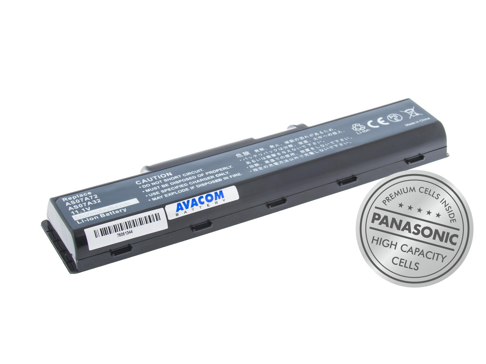 Náhradní baterie AVACOM Acer Aspire 4920/4310, eMachines E525 Li-Ion 11,1V 5800mAh/64Wh