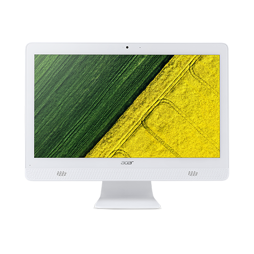 "Acer Aspire C20-720 ALL-IN-ONE 19,5"" HD+LED/Celeron J3060/4GB/1TB/HD Graphics/DVDRW/USB kb & mouse/reproduktory/W10 Home"