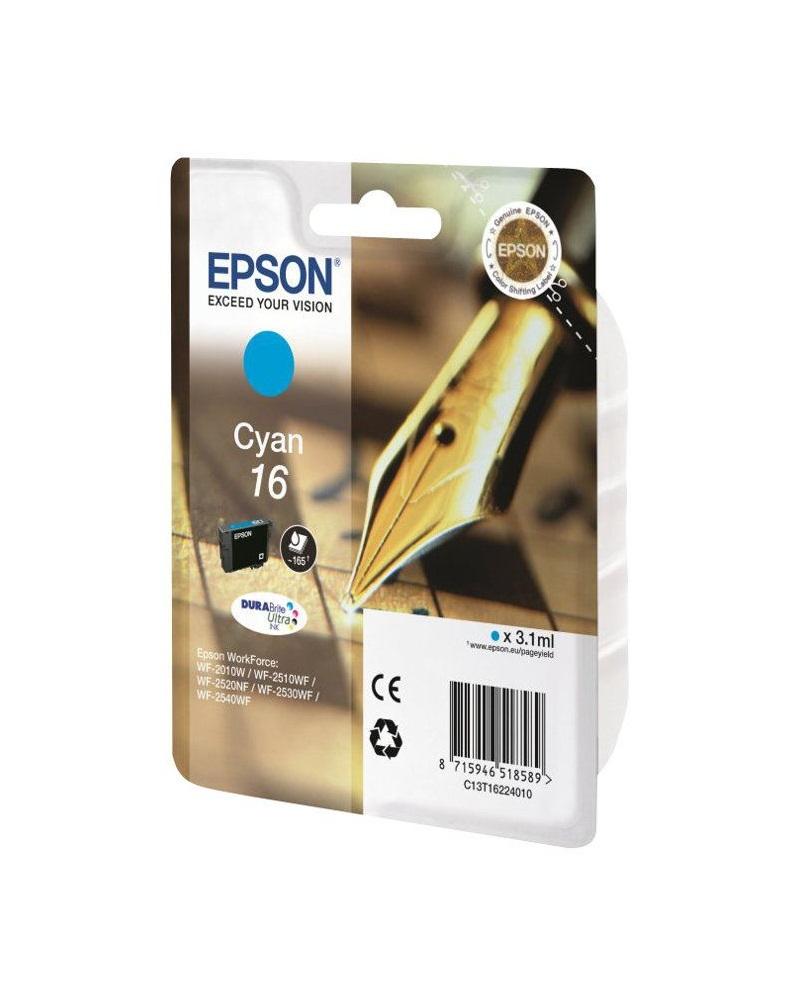 Epson T1622 16 DURABrite Ultra Ink Cyan