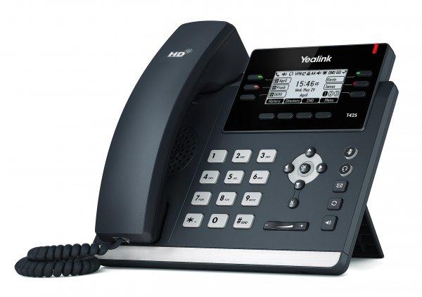 """Yealink SIP-T42S IP tel., PoE, 2,7"""" 192x64 LCD, 15 prog.tl., GigE"""