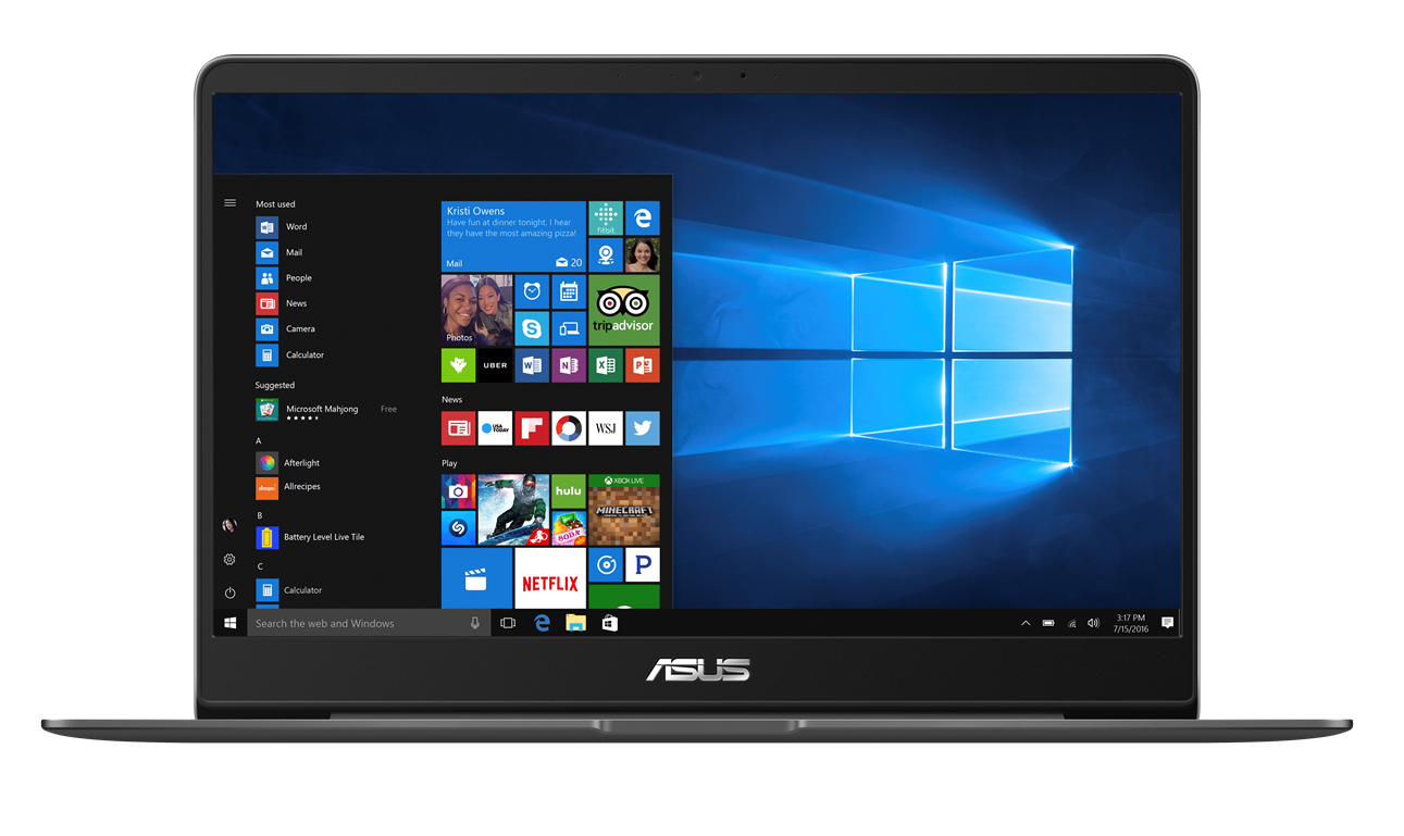 "ASUS UX430UA-GV003R i7-7500U/8GB/512 GB SSD M.2/HD graphics/14"" FHD LED matný/W10 Pro/GREY"