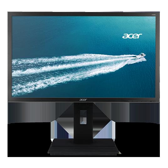 """24"""" LCD Acer B246HL - TN,FullHD,5ms,60Hz,250cd/m2, 100M:1,16:9,DVI,VGA,repro,pivot,výškov.nastav."""