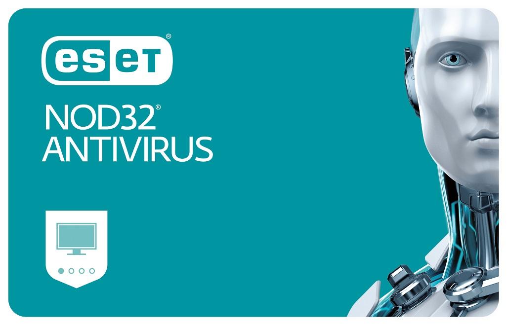 ESET NOD32 Antivirus pro Desktop - 3 instalace na 1 rok