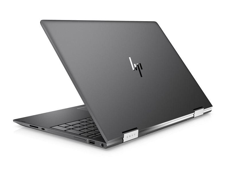 """HP Envy x360 15-bq004nc/AMD A12-9720P/8GB/256 GB SSD + 1TB/AMD HD/15,6"""" FHD Touch/Win 10/tmavě stříbrná"""