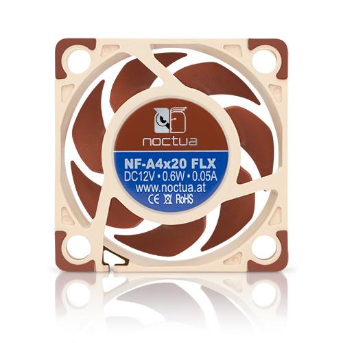 Noctua NF-A4x20-FLX, 40x40x20mm, 3-pin, 5000/3700 RPM