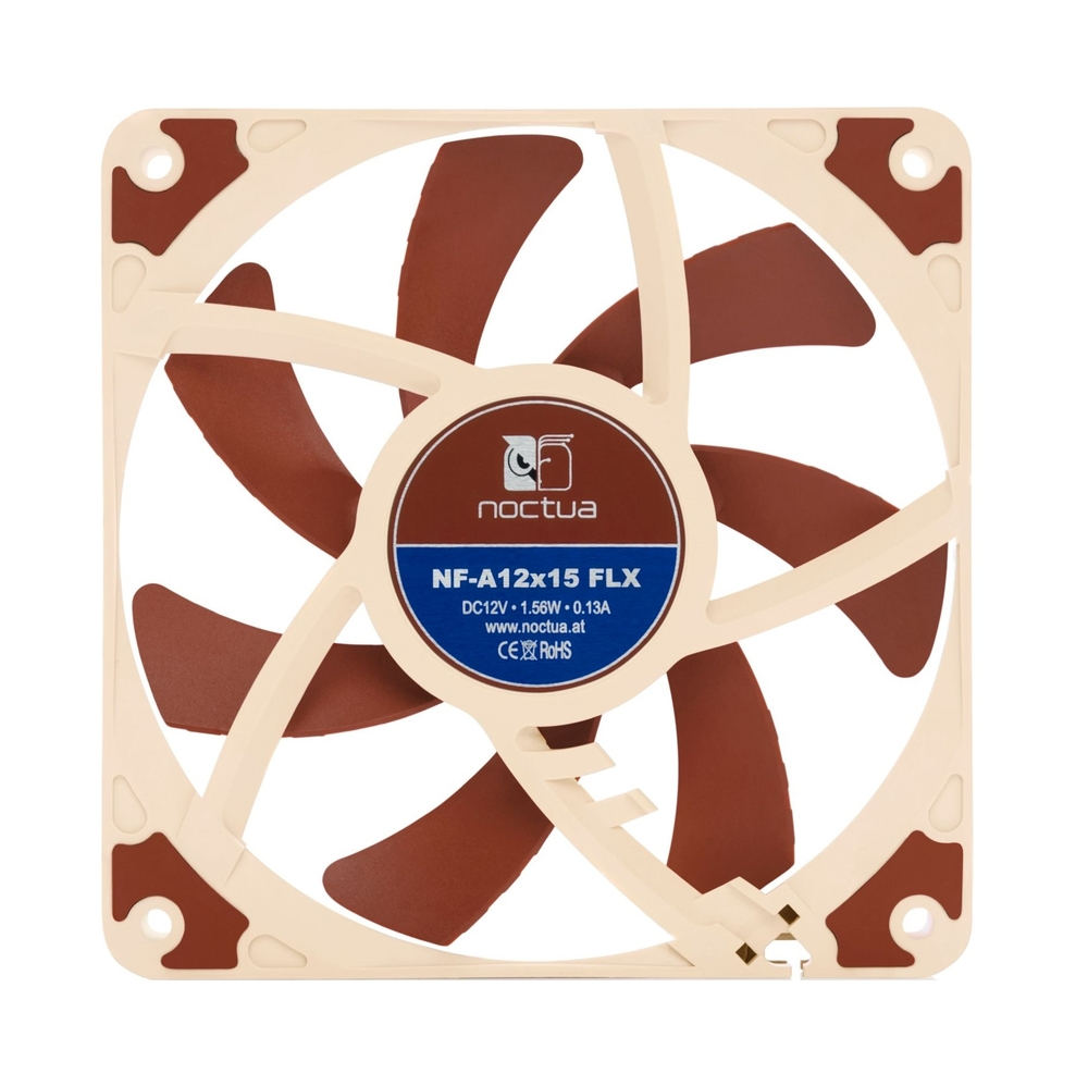 Noctua NF-A12x15-FLX, 120x120x15 mm, 3-pin, 1850 RPM